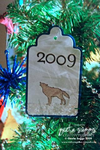 Holiday crafts part 2 cub scout ornaments craftyengineer for Cub scout ornament craft